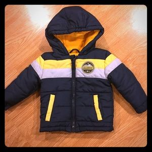 Like New 12 month Weatherproof Insulated Coat